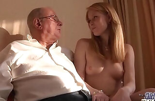 Old Young Porn Grandpa likes to fuck young girls lick pussies