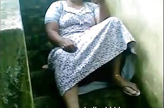 Indian ir Housewife Exposing Her Pussy Sitting Outside Her House