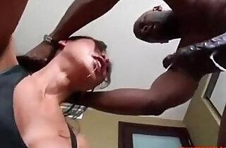 Asian MILF Interracial Rough Fucking BBC HD Porn wife