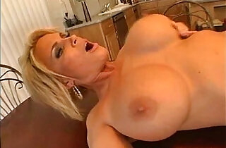 Mom Fucked on the Table!