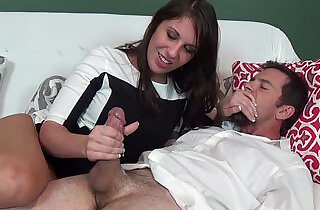 Amiee cambridge jerks off kyle chaos while her husband sleeps
