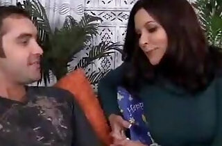 Hot mom get fucked by her son