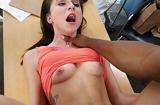 Casting amateur screwed by black agent