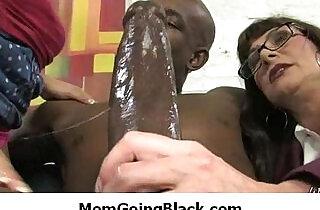 Black monster in my moms pussy