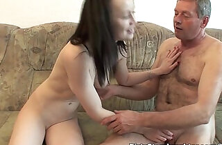 Lewd Grandad Having Sex With Stepdaughter