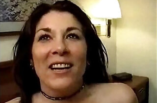 Mature wife get her creampie with strangers