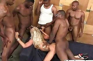 Zoey portland interracial gangbang dp