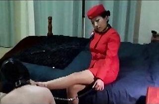 Asian Mistress Jane Stewardess Golden Shower