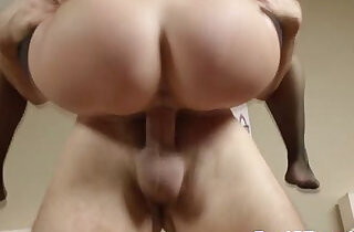Bigtit housewife gets creamy mouthful
