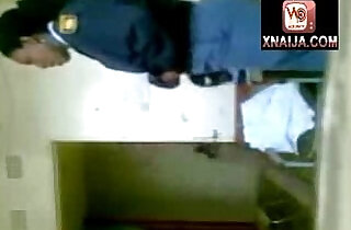 AFRICAN POLICEMAN FUCKING A POLICE WOMAN INSIDE THE STATION OFFICE