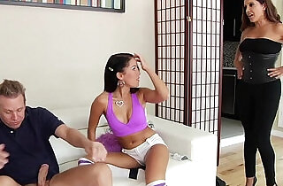 Brutal strapon fuck each other with Megan Rain LeWood