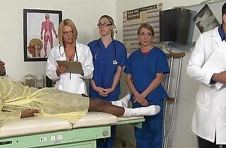 CFNM nurse Krissy Lynn group action