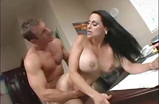 Boss gets fucked by her employee