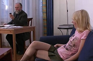 Old man pays him to fuck young wife