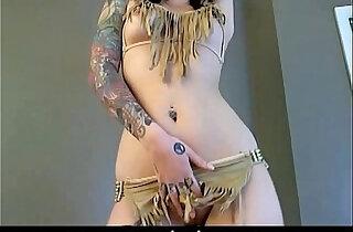 Tattooed Eves Slow Cherokee Striptease