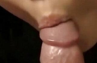 Blowasaki Girl Sucking hard long Dick and Swallows Every last Drop of Cum