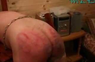 A Good BDSM Spanking from Russia with boobs Love