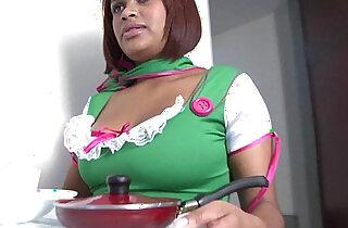 bigtitty latina Yolanda Garcia gets butt fucked hard