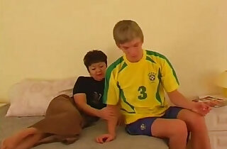 Russian with Son