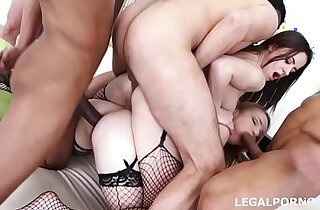 Asshole with Gabriella and Rebecca Sharon Insane Prolapse!