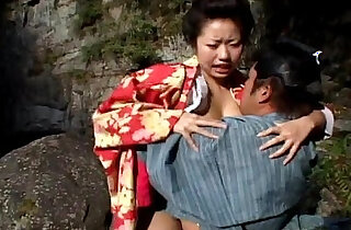 Diore and Summer in trio riding on cock