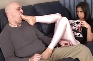 Stepdaughter Knows He Stands on Feet, HD Porn