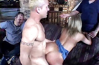 Blonde Housewife Gets Rough Intense Sex