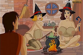 Fuck some horny witches