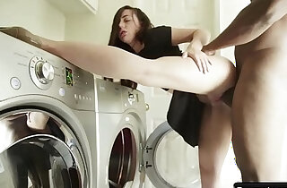 Laundry Lady Masturbating In Need of Big Black hard long Cock Whitney Wright n Nat Turnher