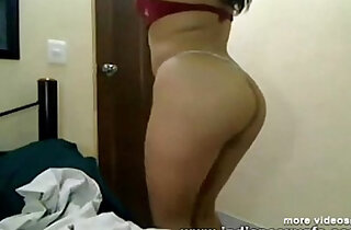 Anvita indian Girl get punish with Red Bra exposed her on live webcam