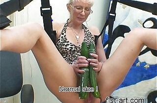 Marcella with cucumber