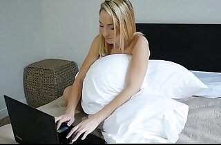 Step Sister Caught Camming By Bro
