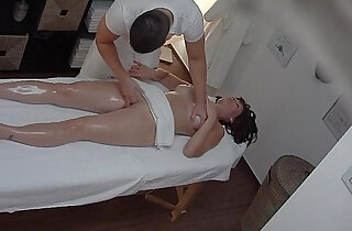 Busty blonde MILF gets Fucked During Massage