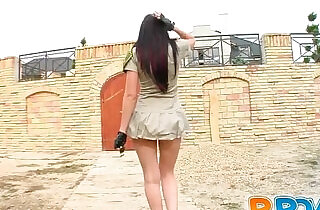 Pure POV female police offer fucked on sight